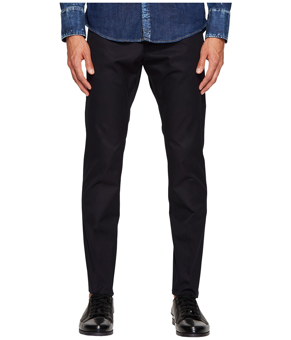 DSQUARED2 - Twill Cotton Tidy Pants (Navy) Mens Casual Pants