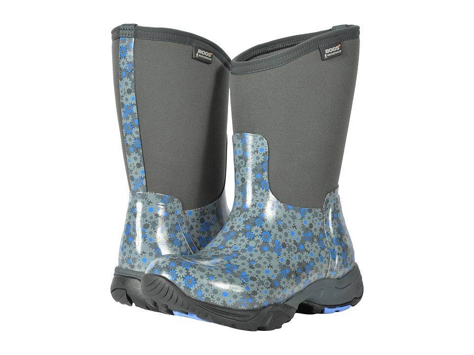 Bogs Daisy Multi Flower (Dark Gray Multi) Women