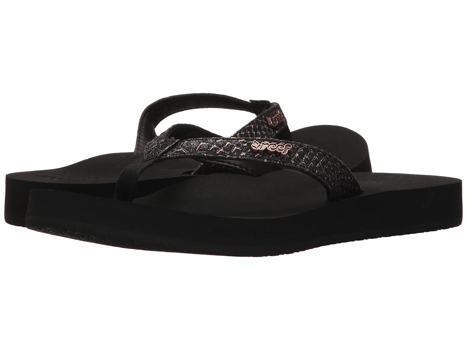 Reef Star Cushion Sassy (Black/Bronze) Sandals