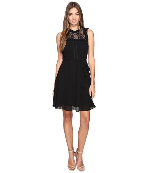 ROMEO & JULIET COUTURE Sleeveless Lace Yoke Dress
