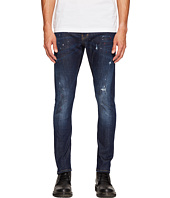 DSQUARED2 - Red Spots Sexy Twist Jeans in Blue