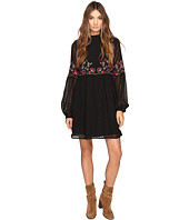 ROMEO & JULIET COUTURE - High Neck Embroidered Dress