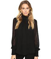 ROMEO & JULIET COUTURE - Textured Sheer Blouse