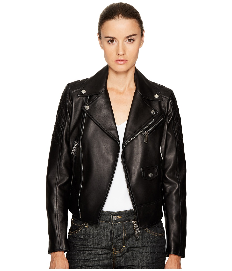 DSQUARED2 - Lamb Leather Bonded Leather Biker Kiodo
