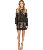 ROMEO & JULIET COUTURE - Sheer Woven Lace Ladies Dress