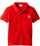 Paul Smith Junior - Short Sleeve Plain Red Polo (Toddler/Little Kids)
