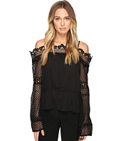 ROMEO & JULIET COUTURE - See Through Woven Top