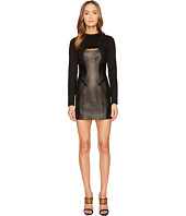 DSQUARED2 - Patent Leather and Neoprene Dress