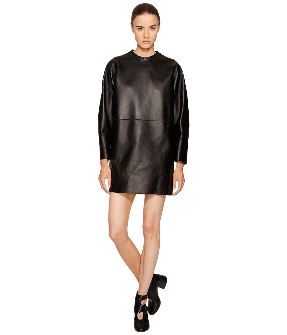 DSQUARED2 DSQUARED2 - Boned Leather Dress