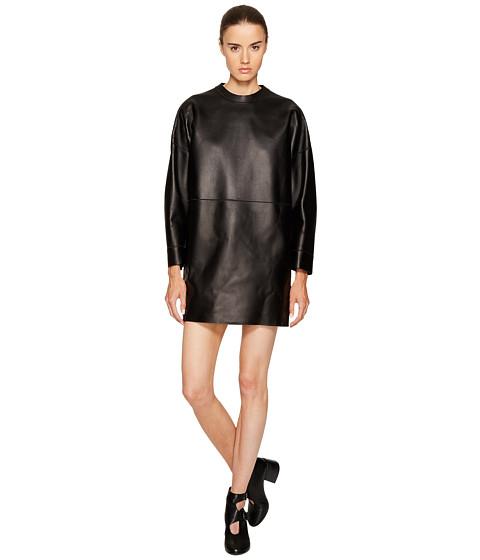 DSQUARED2 Boned Leather Dress