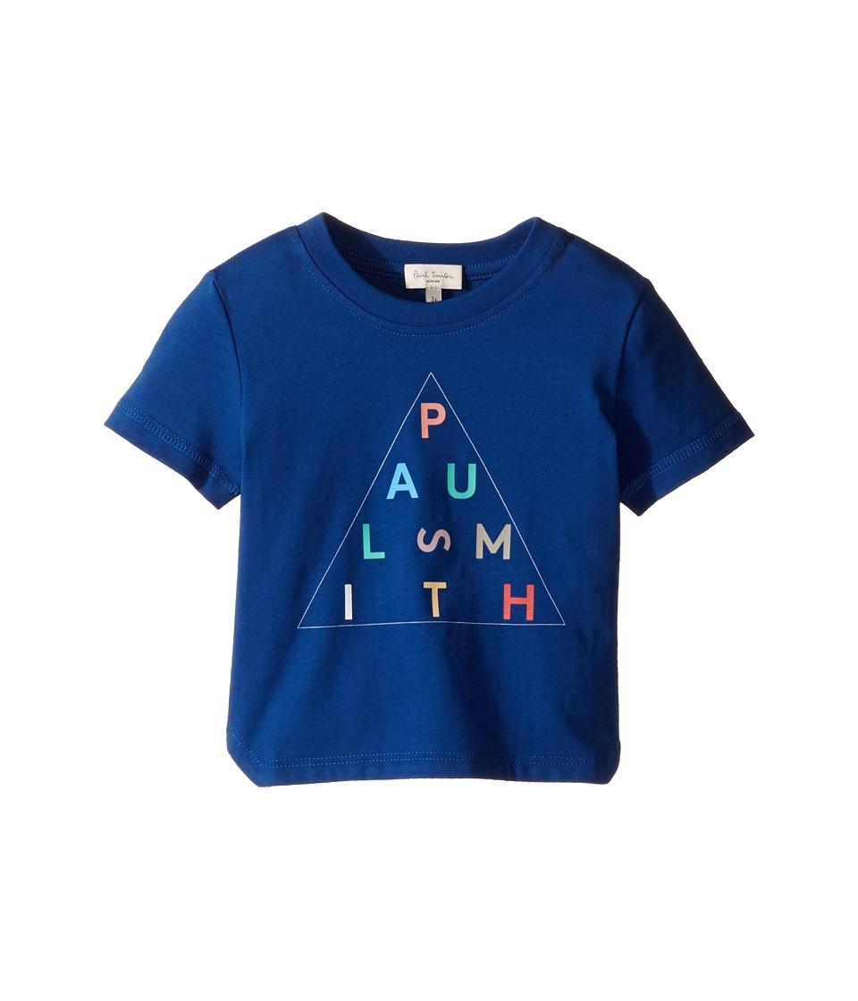 Paul Smith Junior - Short Sleeve Navy Paul Smith Logo Tee