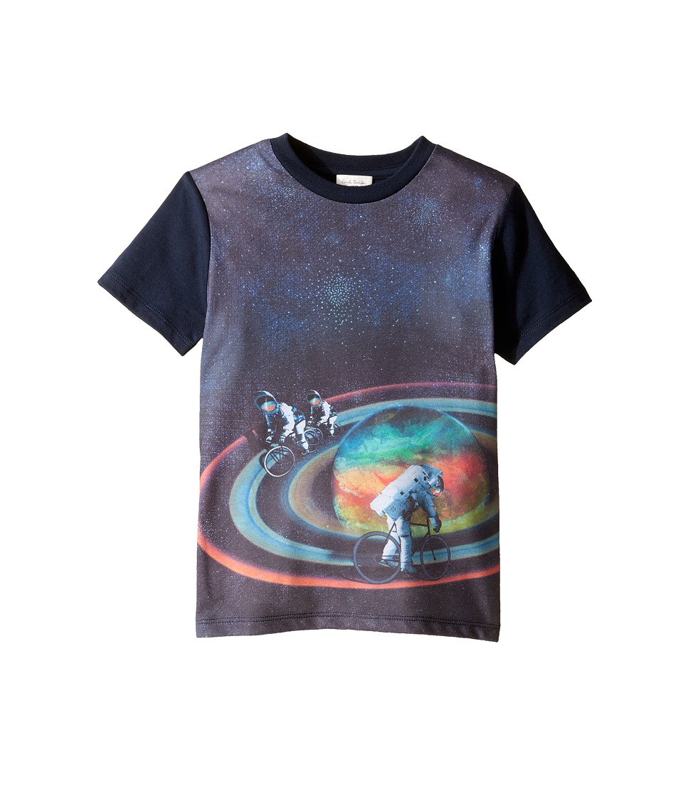 Paul Smith Junior - Short Sleeve All Over Planet Tee