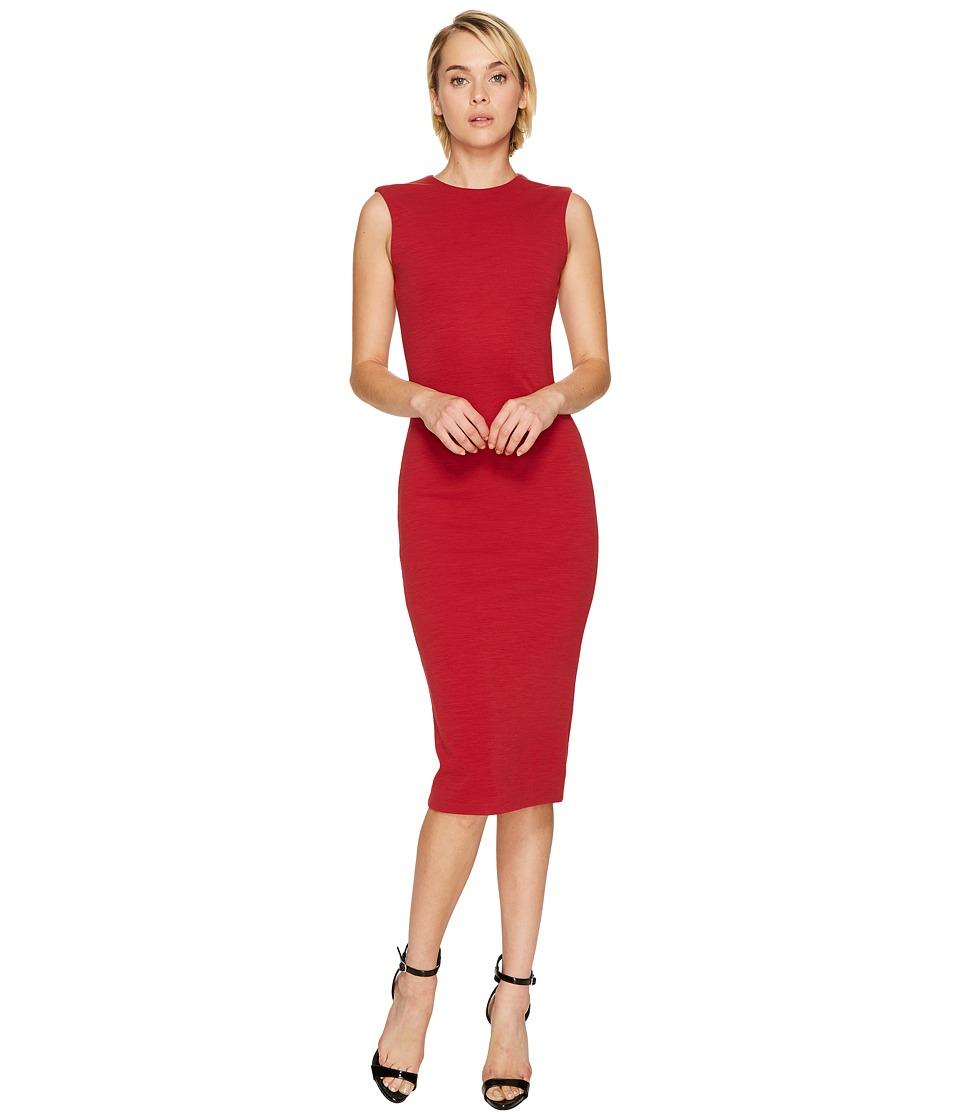 DSQUARED2 Wool Jersey Sleeveless Dress (Red) Women