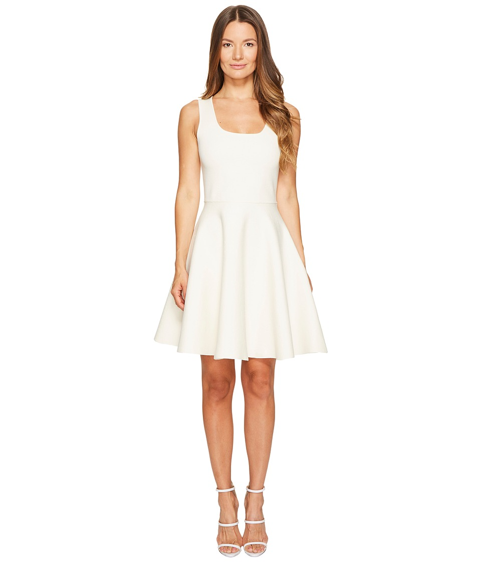 DSQUARED2 Sleeveless Fit and Flare Dress (White) Women