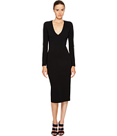 DSQUARED2 - Wool Jersey Long Sleeve Dress