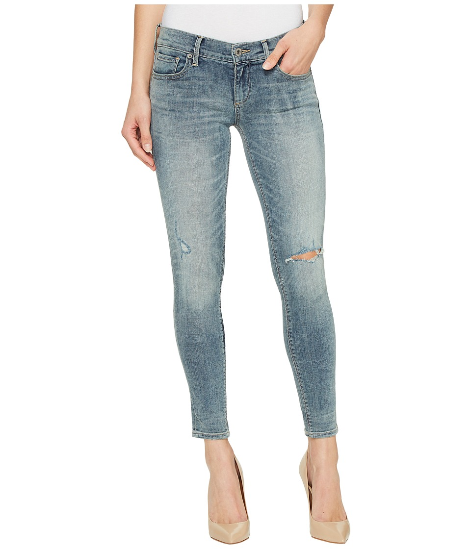 Lucky Brand Charlie Capri Jeans in Carefree (Carefree) Women