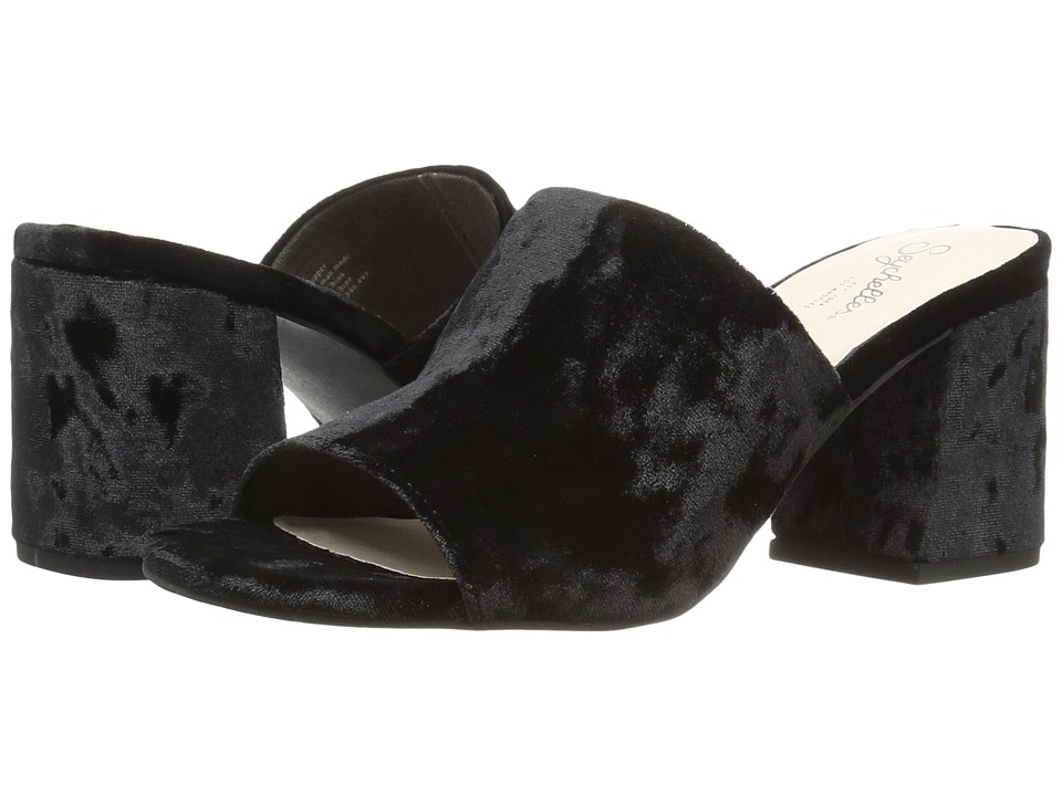 Seychelles - Commute (Black Velvet) Womens Clog/Mule Shoes