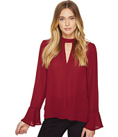 ROMEO & JULIET COUTURE - Long Sleeve V-Neck Top