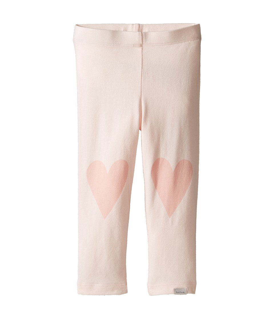 Paul Smith Junior - Pink Leggings with Hearts On Knees