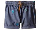 Paul Smith Junior - Dinosaur Chambray Shorts (Infant)