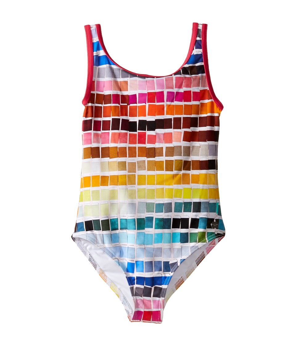 Paul Smith Junior - Color Samples Printed Bathing Suit