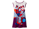 Junior Gaultier - Dress with Image of 3 Girls w/ Fake Tyed Sleeves (Big Kids)