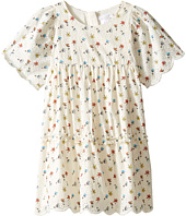 Chloe Kids - Flowers Embroidery Dress From Adult Collection (Toddler/Little Kids)