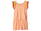 Chloe Kids Rainbow Ruffles Short Sleeve Dress From Adult Collection (Toddler/Little Kids)