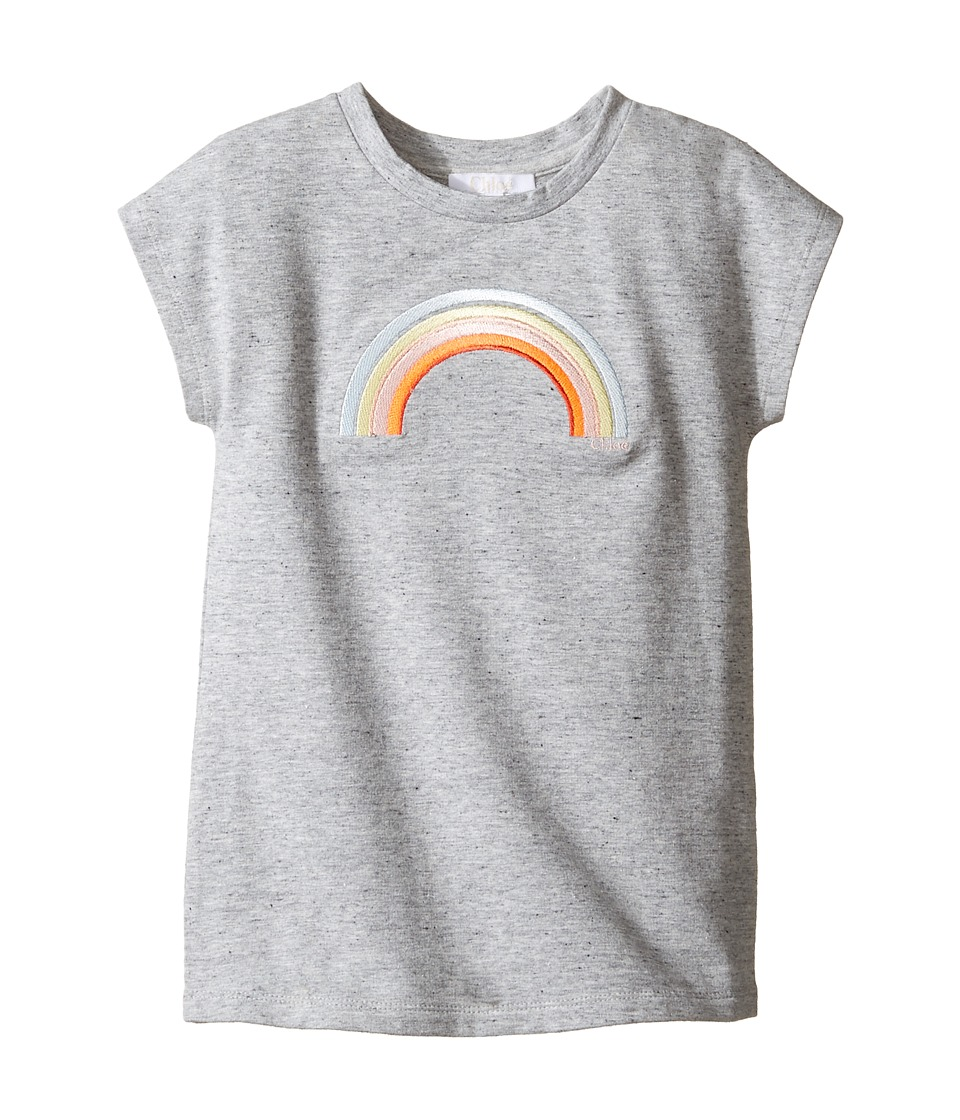 Chloe Kids - Rainbow Milano Short Sleeve Dress