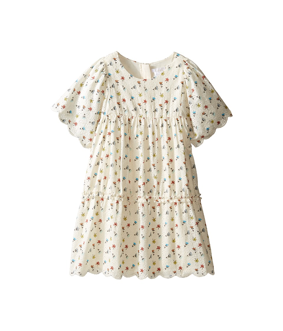Chloe Kids - Flowers Embroidery Dress From Adult Collection