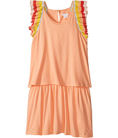 Chloe Kids - Rainbow Ruffles Short Sleeve Dress From Adult Collection (Big Kids)