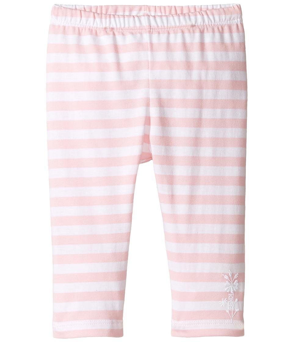 Fendi Kids - Striped Leggings w/ Floral Logo Detail