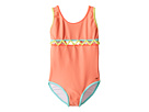 Chloe Kids Lining Detail One-Piece Swimsuit (Toddler/Little Kids)