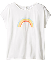 Chloe Kids - Sunglasses Or Rainbow Print Short Sleeve Tee Shirt (Big Kids)