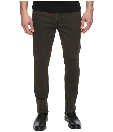 Kenneth Cole Sportswear Skinny Denim in Army Green - Army Green
