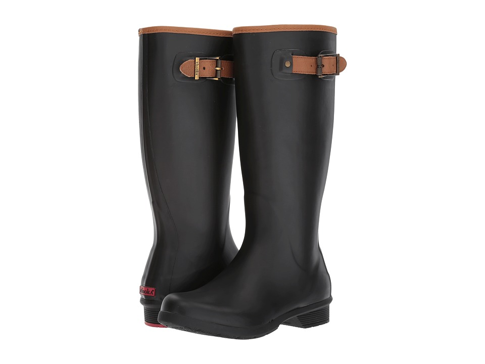 Chooka - City Solid Tall Boot (Black) Womens Rain Boots