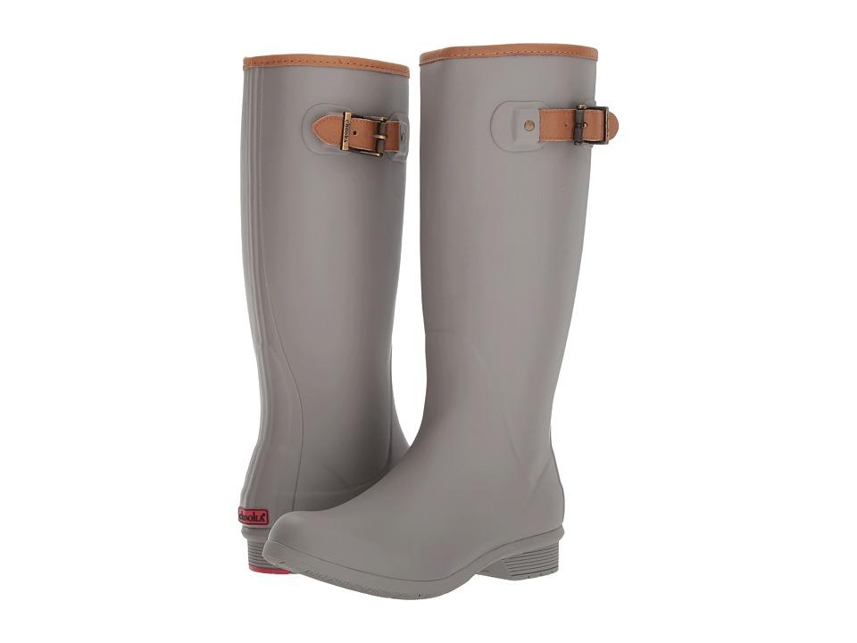 Chooka City Solid Tall Boot (Stone) Women's Rain Boots