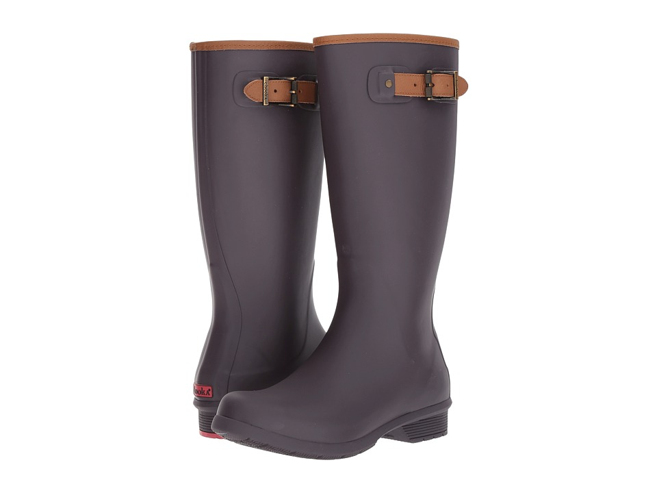 Chooka City Solid Tall Boot (Mulberry) Women