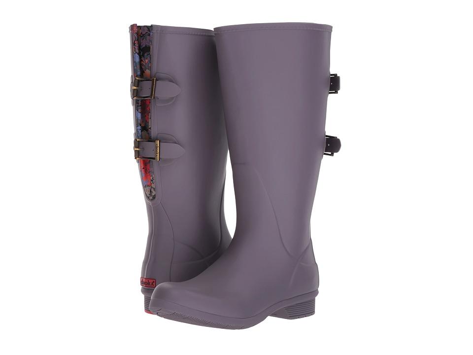 Chooka Versa Prima Wide Calf Tall Boot (Mulberry) Women