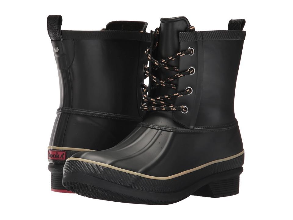Chooka Classic Rain Duck Boot (Black) Women