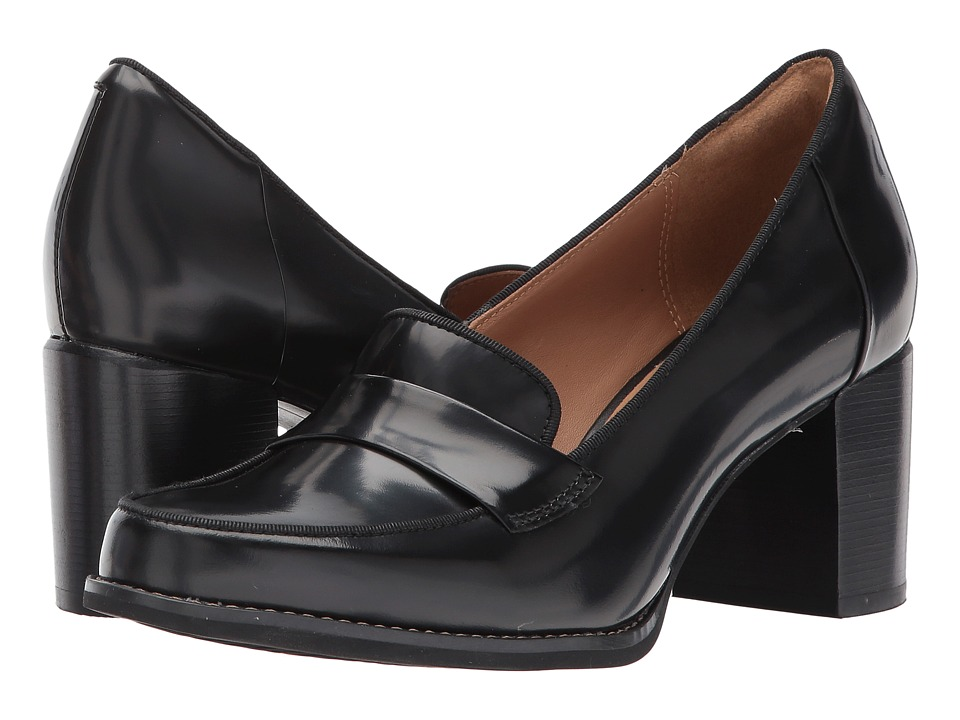 Clarks - Tarah Grace (Black Shiny Leather) High Heels