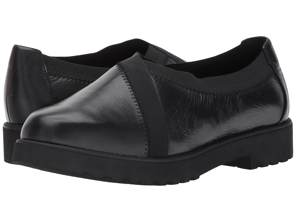Clarks Bellevue Cedar (Black Leather) Women