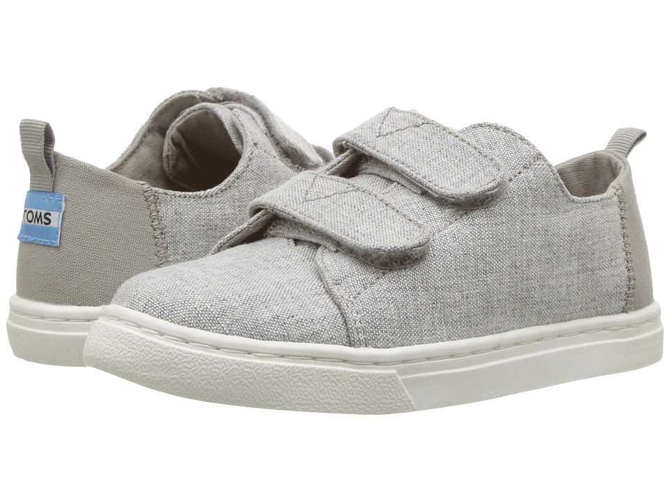 TOMS Kids Lenny (Infant/Toddler/Little Kid) (Drizzle Grey Slub Chambray) Kid's Shoes