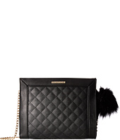 Rampage - Diamond Quilted Rectangle Crossbody
