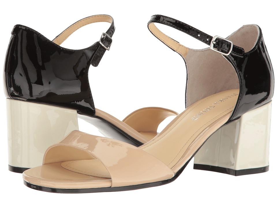 Ivanka Trump Easta (Light Latte/Black New Patent Leather) Women