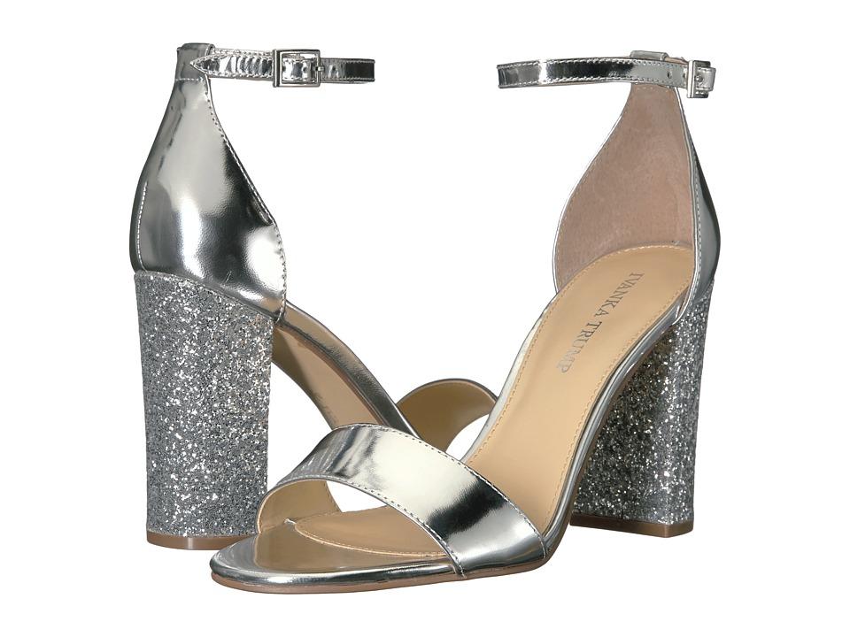 Ivanka Trump Klover (Silver New Specchio Mirror) High Heels