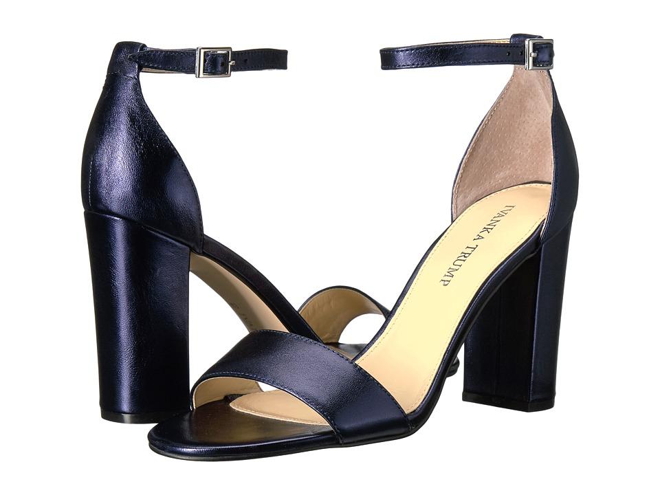 Ivanka Trump Klover (Insignia Blue New laminato) High Heels