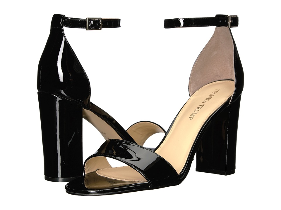 Ivanka Trump Klover (Black New Patent Leather) High Heels