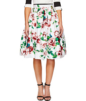 Unique Vintage - High Waist Swing Skirt