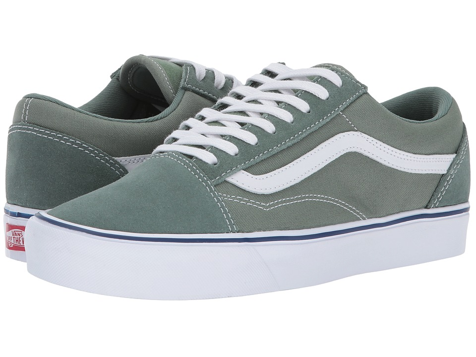 Vans Old Skool Lite ((Throwback) Laurel Wreath/Sea Spray) Skate Shoes